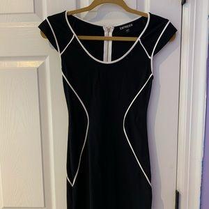 Express Short Sleeve Dress